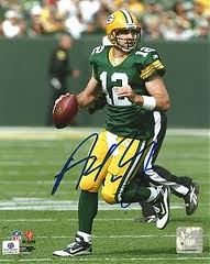 Rodgers signed photo