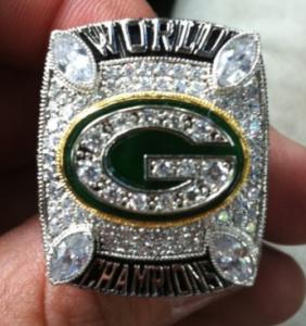 Super Bowl XLV ring Packers replica